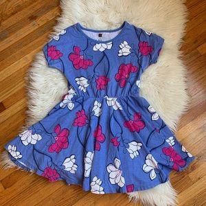 Tea collection magnolia skirt dress sz 8